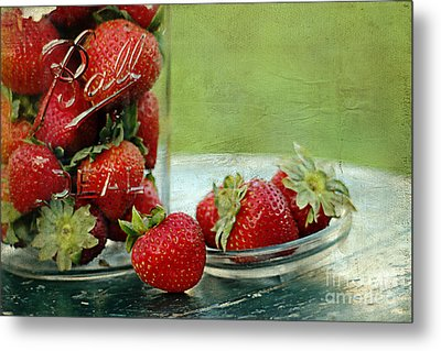 Fresh Berries Metal Print by Darren Fisher