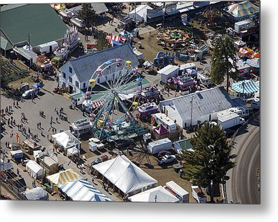 Fryeburg Fair, Maine Me Metal Print by Dave Cleaveland