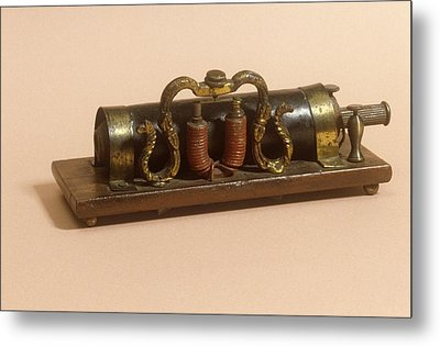 Galvanic Coil Metal Print by Science Photo Library