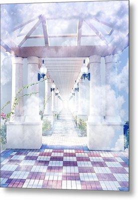 Gateway To Heaven Metal Print by Rudy Umans