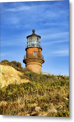 Gay Head Lighthouse Metal Print by John Greim