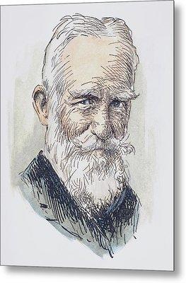 George Bernard Shaw (1856-1950) Metal Print