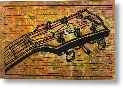 Gibson Metal Print by William Cauthern