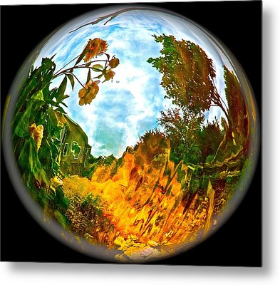 Global Warmth Metal Print