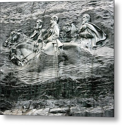 Metal Print featuring the photograph Granite by Steve Godleski