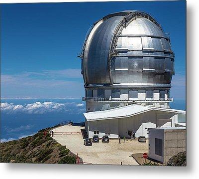 Grantecan Telescope Metal Print by Alfred Pasieka