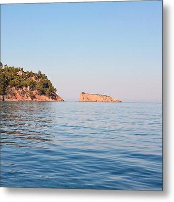 Greek Islands Metal Print by Tom Gowanlock