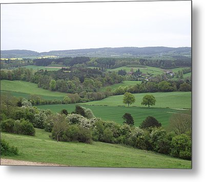 Metal Print featuring the photograph Green And Pleasant Land by Jayne Wilson