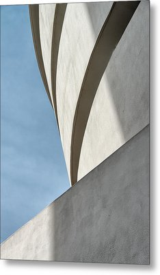 Metal Print featuring the photograph Guggenheim Museum by James Howe
