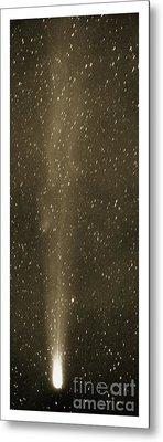Halleys Comet In May 1910 Metal Print by Detlev van Ravenswaay