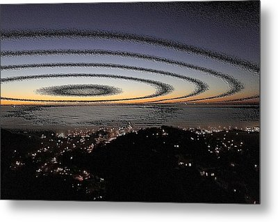 Metal Print featuring the photograph Halo by Nick David