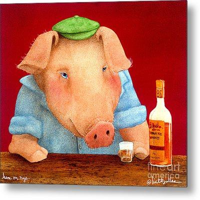 Ham On Rye... Metal Print by Will Bullas