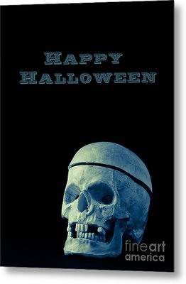Happy Halloween Card 2 Metal Print