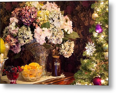 Happy Holidays Metal Print by Patricia Babbitt