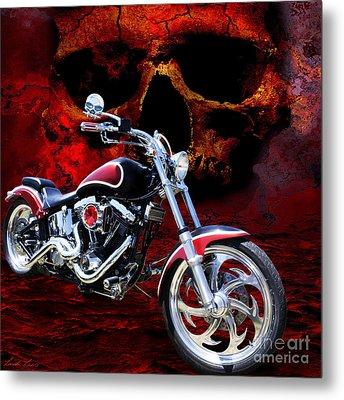Heaven And Hell Metal Print by Linda Lees