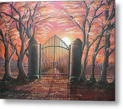 Heavens Gates Metal Print