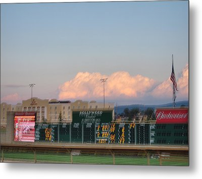 Hollywood Casino At Charles Town Races - 12125 Metal Print by DC Photographer
