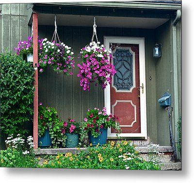 Home Sweet Home Metal Print by Frozen in Time Fine Art Photography