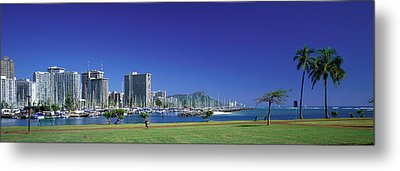 Honolulu Hawaii Metal Print