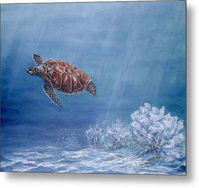 Honu Metal Print by Dorothea Hyde