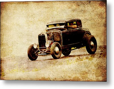 Hot Rod Ford Metal Print