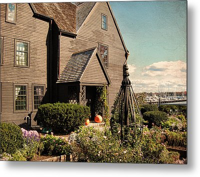 House Of The Seven Gables Metal Print