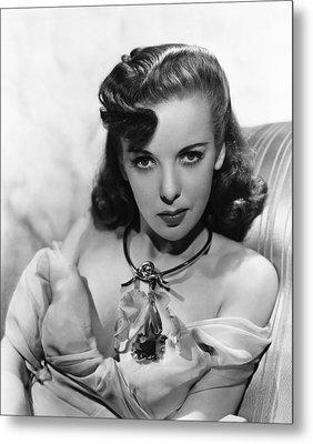 Ida Lupino, Warner Bros. Portrait Metal Print