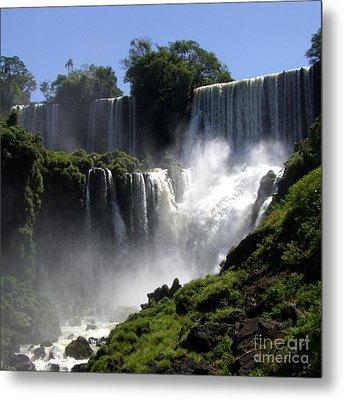 Iguassu Falls Metal Print