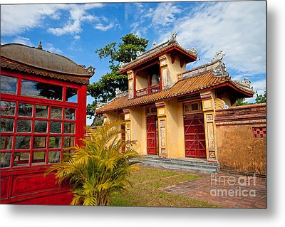 Imperial City Of Hue Vietnam Metal Print by Fototrav Print