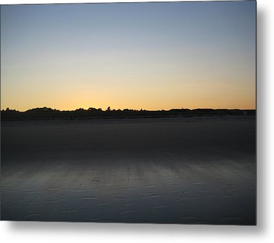 In The Shadow Of The Dunes Metal Print