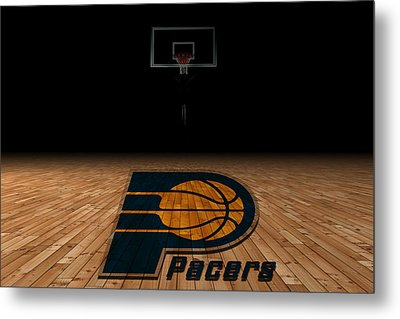 Indiana Pacers Metal Print by Joe Hamilton