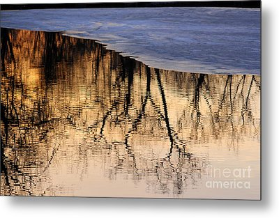 Isles Reflections Metal Print
