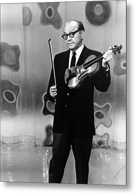 Jack Benny Metal Print by Silver Screen