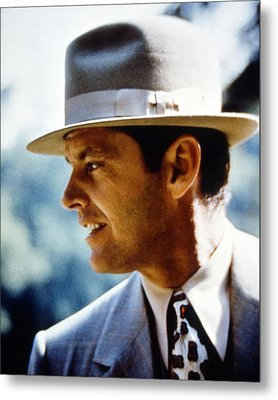 Jack Nicholson In Chinatown  Metal Print by Silver Screen