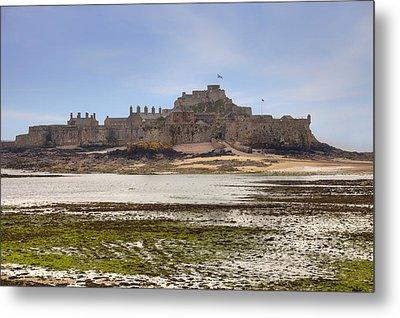 Jersey - Elizabeth Castle Metal Print by Joana Kruse
