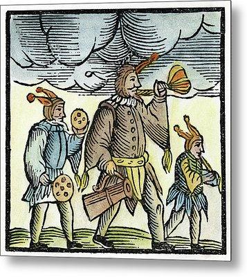 Jewish Holiday, 1663 Metal Print by Granger