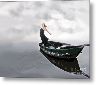 Jump Metal Print by Denise Deiloh