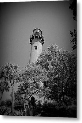 Jupiter Lighthouse Metal Print