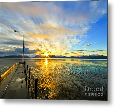 K Bay Sunrise Metal Print