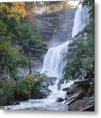 Kaaterskill Falls Square Metal Print by Bill Wakeley