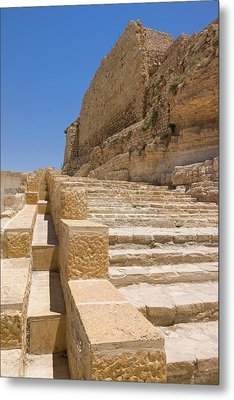 Karak Castle, Jordan Metal Print by Keren Su