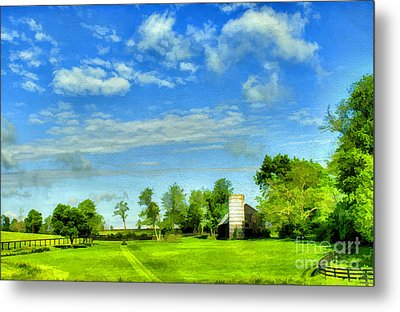 Kentucky Countryside Metal Print by Darren Fisher