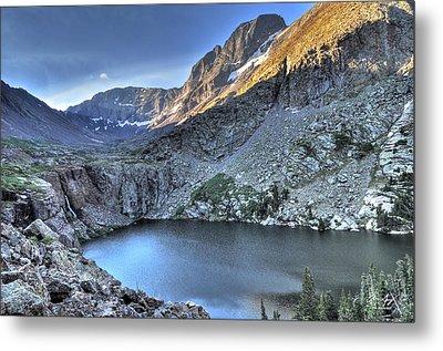 Kit Carson Peak And Willow Lake Metal Print