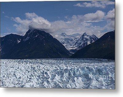 Knik Glacier Alaska Metal Print