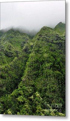 Metal Print featuring the photograph Ko'olau Mountain by Gina Savage