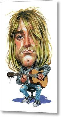 Kurt Cobain Metal Print by Art