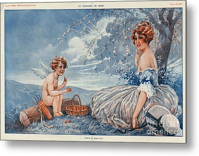 La Vie Parisienne 1916 1910s France Metal Print by The Advertising Archives