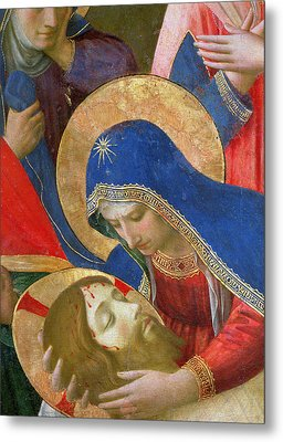 Lamentation Over The Dead Christ Metal Print by Fra Angelico