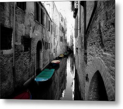 Metal Print featuring the photograph L'aqua Magica by Micki Findlay