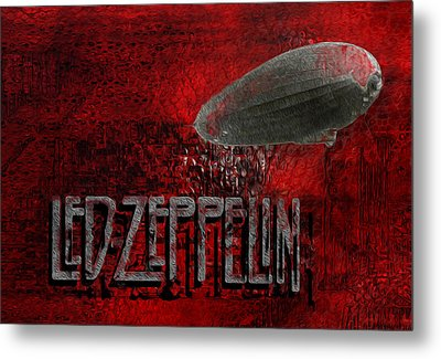 Led Zeppelin Metal Print
